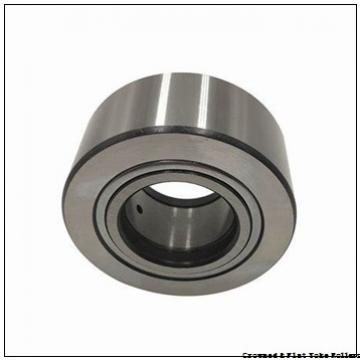 INA PWTR2052-2RS Crowned & Flat Yoke Rollers